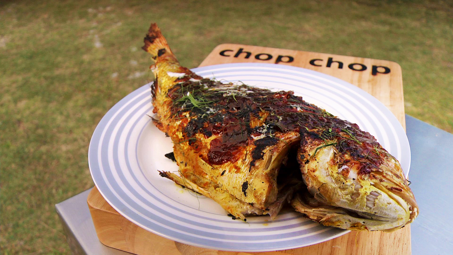 recipe: grilled whole fish thai [12]