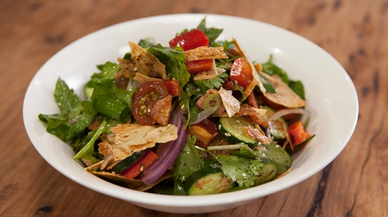 ep 62 Mt Bread Fattoush Salad